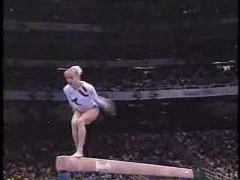 Who can forget Shannon Miller winning an Olympic gold medal in 1996?  Shannon Miller was, arguably, the greatest technician in the history of women's gymnastics.