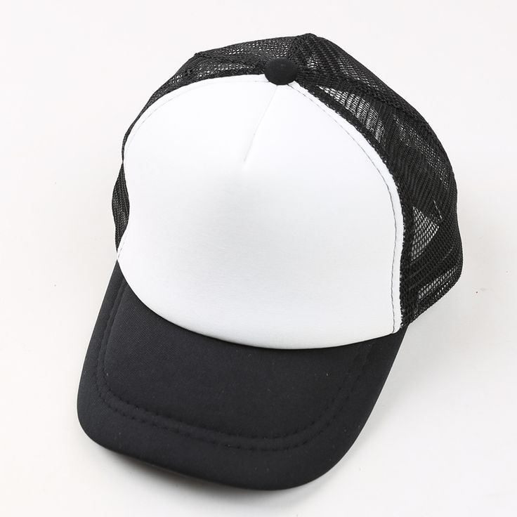 (9 Colors) New Arrival Adjustable Child Solid Casual Hats for New Classic Trucker Summer Kids Baseball Golf Mesh Cap Sun Hats