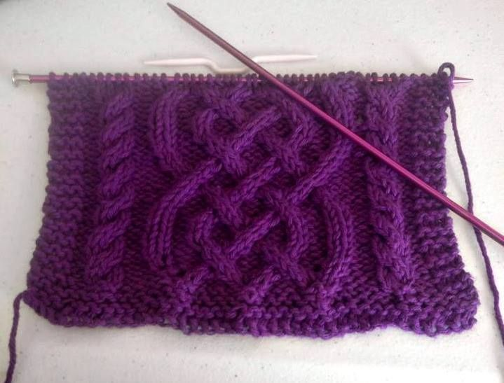 Celtic Knot Knitting Pattern Free : Best images about cable knits on pinterest