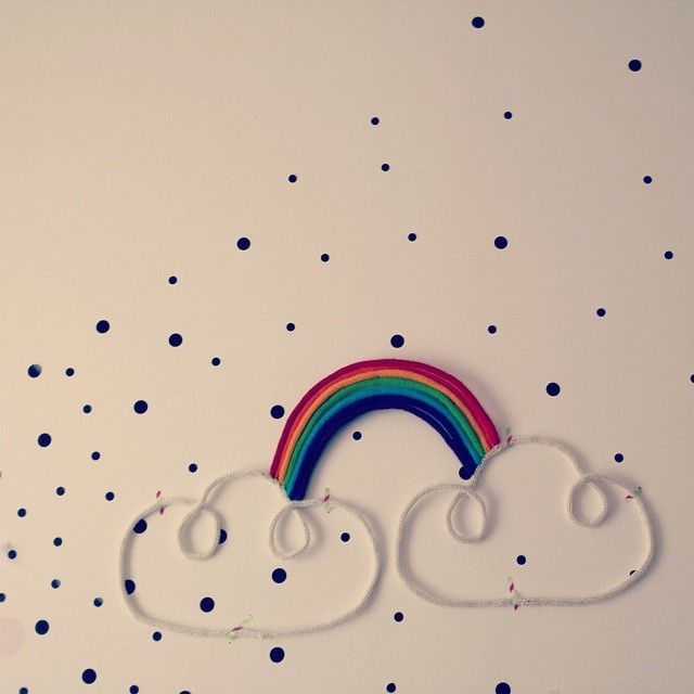 #deco #arcenciel #decoration #nuage #chambreenfant #kidsroom #faitmain #madeinfrance #fabricationfrançaise
