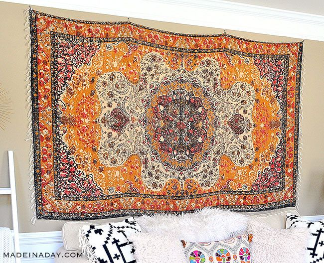 Rug Wall Art How To Hang A Rug Like A Tapestry Rug Wall Hanging Tapestry Rugs