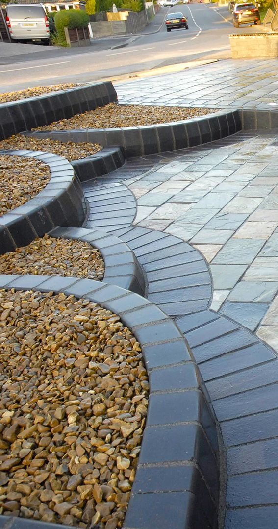 Rustic Quartz Quartzite Block Paving | Driveway | Landscaping | Patio | Garden Path | Natural stone | Paving the Way