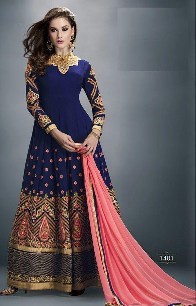FSN New Bollywood Indian Salwar Pakistani Designer Wear Anarkali Salwar Kameez #LookBollywood #BollywoodSalwarKameez