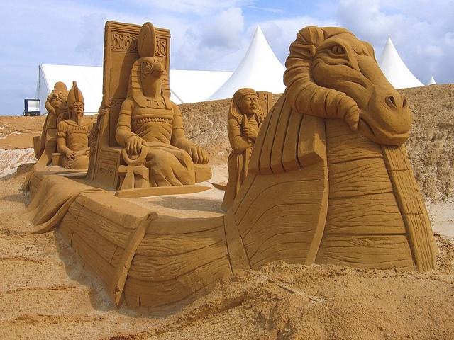sand sculptures | Sand Sculptures, Le Touquet, Région Nord-Pas-de-Calais, France ...