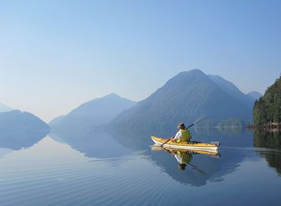 Haida Gwaii (Queen Charlotte Islands)  http://www.lonelyplanet.com/canada/british-columbia/queen-charlotte-islands-haida-gwaii