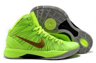 2013 Nike Lunar Hyperdunk X 2012 James Outlet Online Green Gold Grey