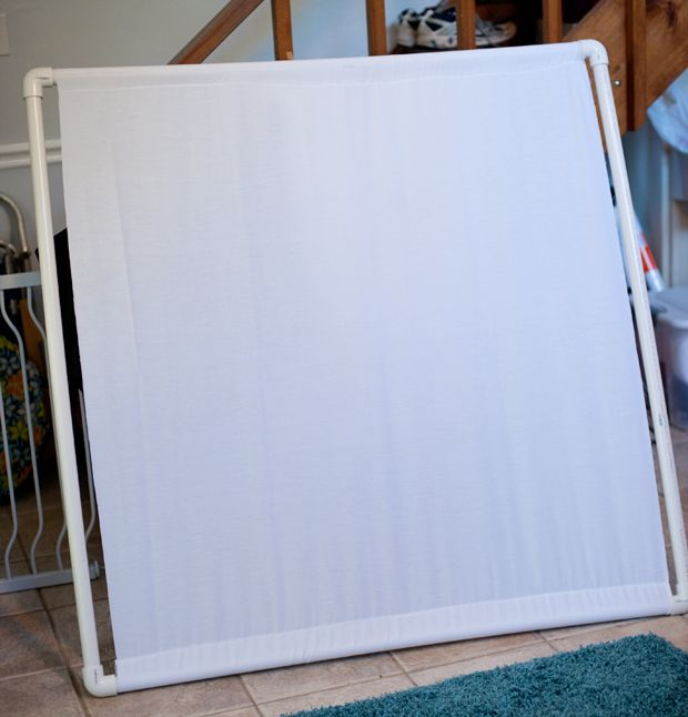 DIY scrim for less than $50 #photography