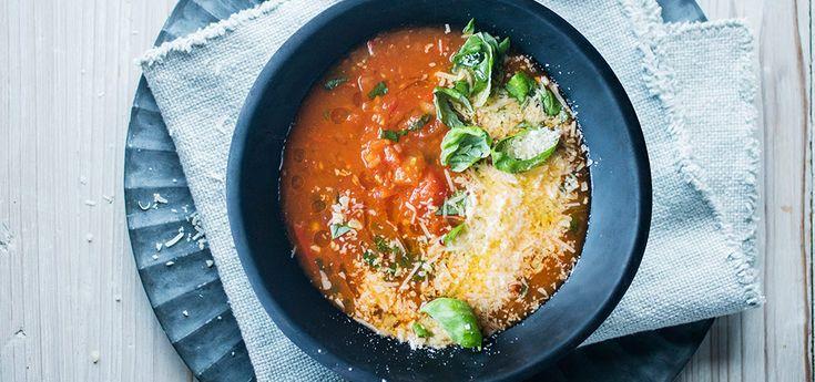 «Chunky» tomatsuppe med chili og basilikum   Lises blogg
