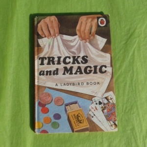 An original ladybird book, full of magical tricks. Just one of the many lovely things you might find inside a Gift Owl parcel of surprises. www.gift-owl.com