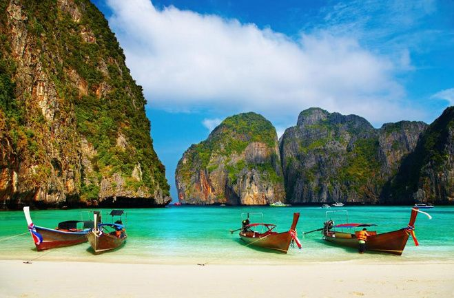Phi Phi Islands, Thailand | Community Post: 22 Beaches That Will Make You Forget About The Polar Vortex