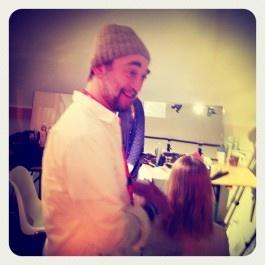 Souleiman #hair stylist #Παρίσι #Vanessa Bruno