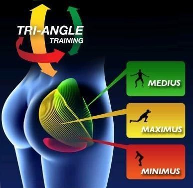 Another poster said:Exercises that activate each buttocks muscle : MEDIUS - Jumping