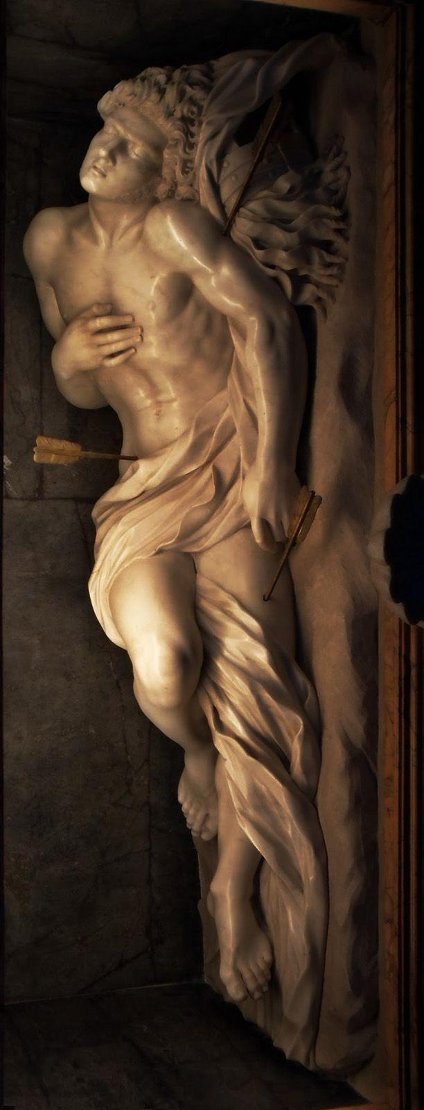 BERNINI Gian Lorenzo - Italian (Naples 1598-1680 Rome) ~  St Sebastian