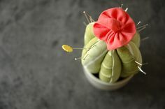 cactus pincushion tutorial by Sewing Lab