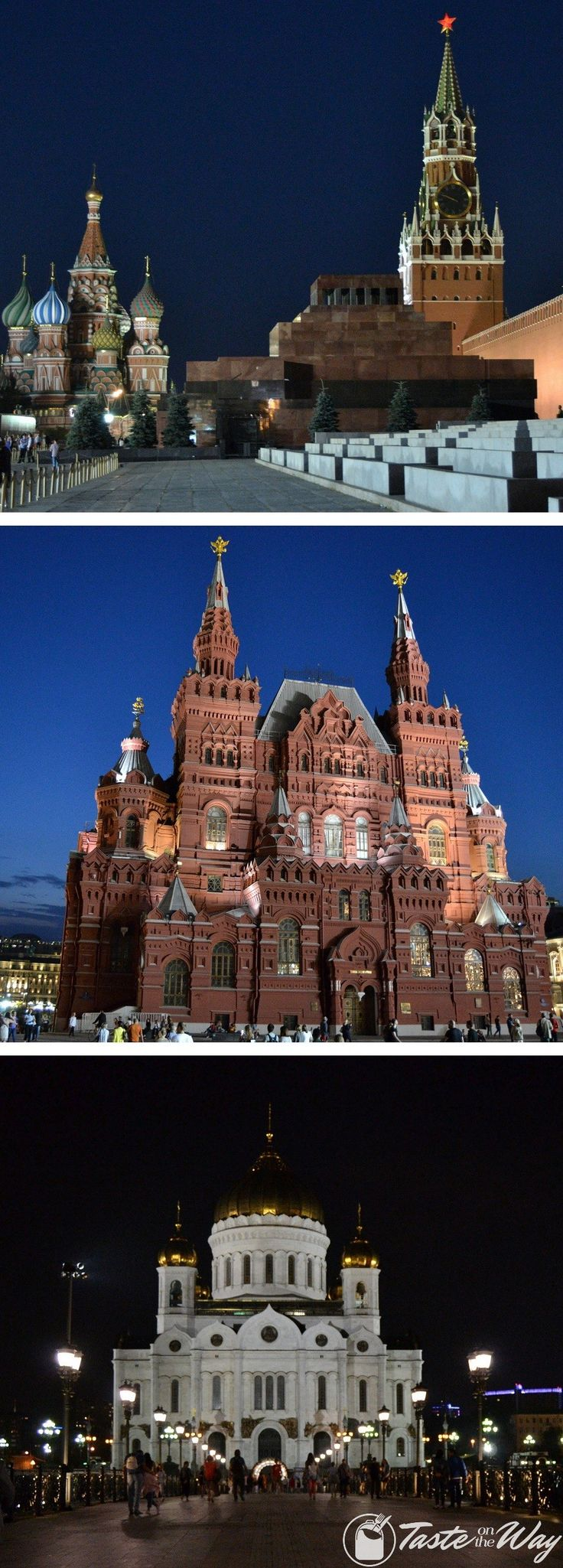 Check out our travel story about the Red Square in Moscow with pictures @tasteontheway