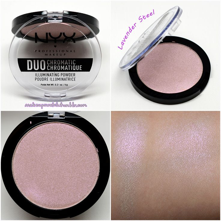 NYX - Lavender Steel Duo Chromatic Illuminating Powder