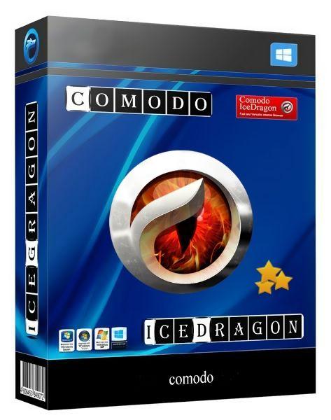 Comodo Dragon Internet Browser коробка