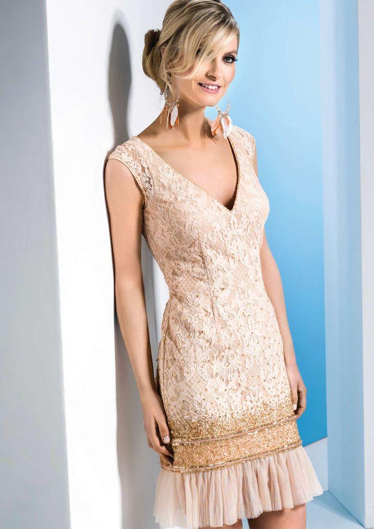 Linea Raffaelli dress 171-530-01 set 401, resort collection 2018