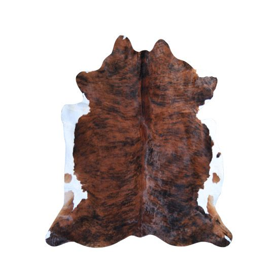 Cow Hide 4 Charred and Toast colors