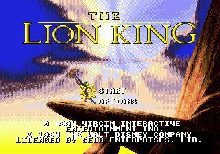 Play Lion King, The Sega Genesis online | Play retro games online at Game Oldies