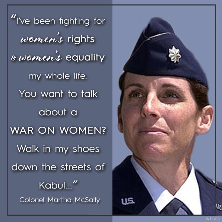 Colonel Martha McSally, first American female combat pilot, fires back at Democrats' War On Women.