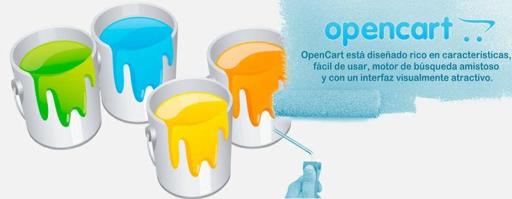 """OpenCart es un platoforma e-commerce , que implementa en un Sitio Web las funciones de """"Carrito de Compras"""", permitiendo crear un catálogo o una tienda en línea, perfectamente adaptada a las necesidades de la pequeña y mediana empresa, es apto para la comercialización de todo tipo de productos."""