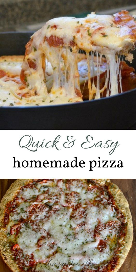Quick & Easy Homemade Pizza -Who doesn't love pizza? It's a staple in most homes with kids. Yet, making your own takes what seems like forever! No more. This pizza will be on the table in the time it takes to get delivery! Perfect pizza crust, quick, every time.