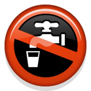 non-potable water symbol