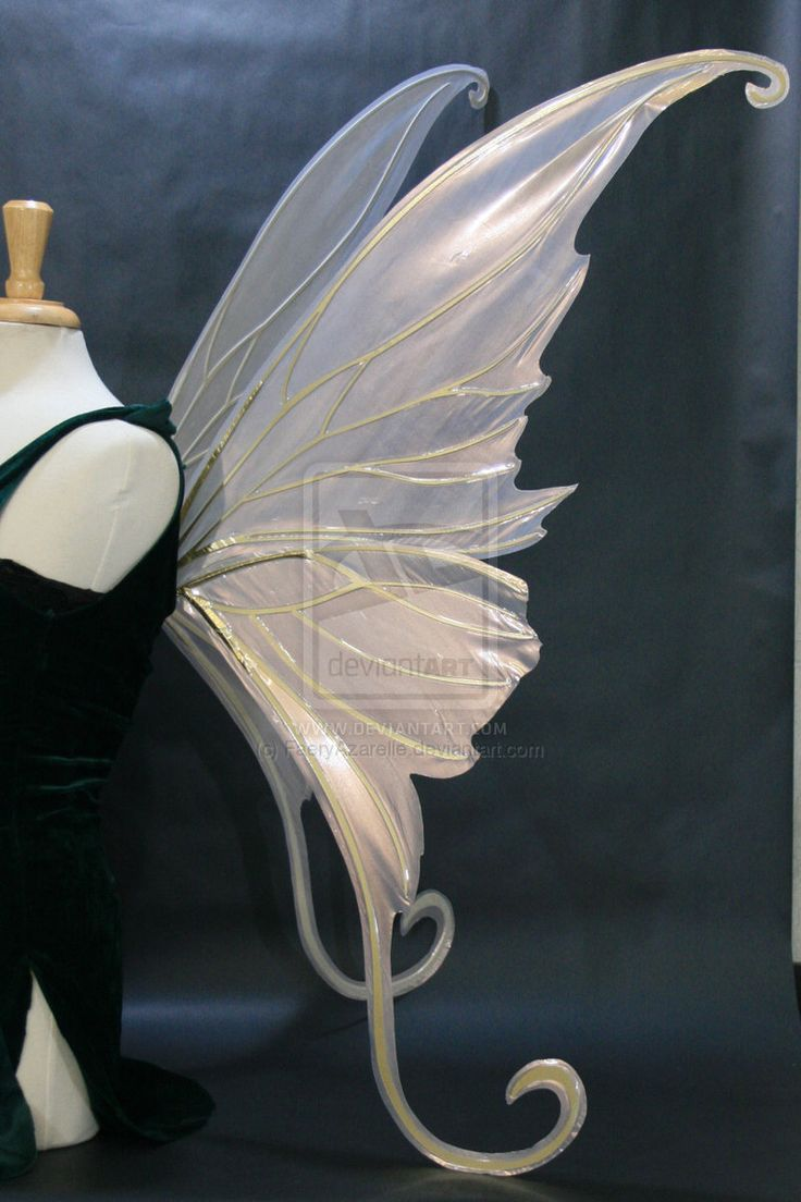 Titania Grand Wings, side by FaeryAzarelle.deviantart.com on @DeviantArt