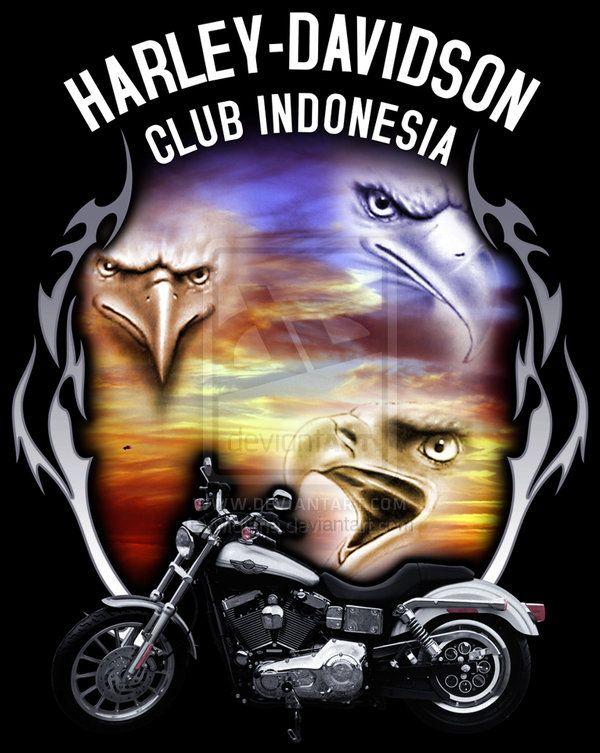 Harley Davidson Eagle Clip Art | HARLEY-DAVIDSON_eagle by ...