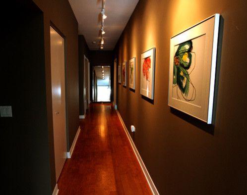 Track lighting in hallway. & 10 best Hallway Ideas images on Pinterest | Hallway ideas Artwork ... azcodes.com