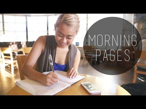 Morning Pages - Write Daily For Clarity, Creativity, Productivity - YouTube