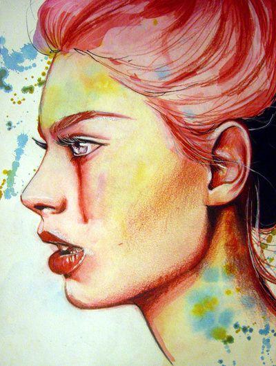 Ağlayan Kız Çizimleri | Bubble Art, 2019 | Pinterest | Art ...