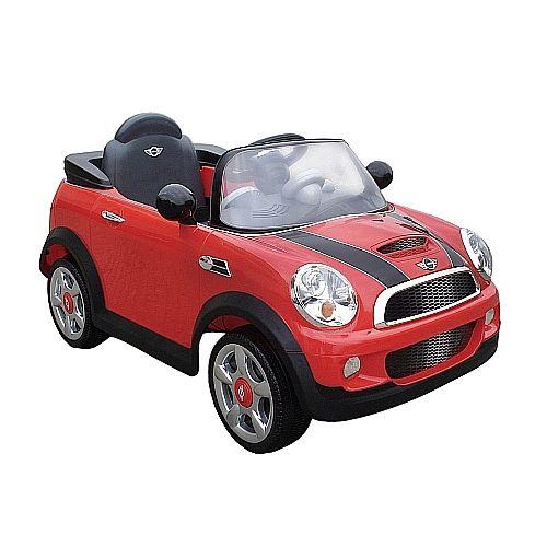 """Avigo - Mini Cooper 6V - Rojo - Bicicletas, Motos y Triciclos - A Batería - Toys""""R""""Us"""