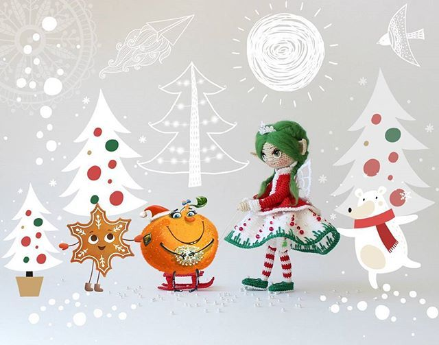 Best Adudakova Crochet Dolls Images On