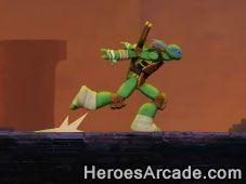 Play Ninja Turtles Sewer Run Game Online