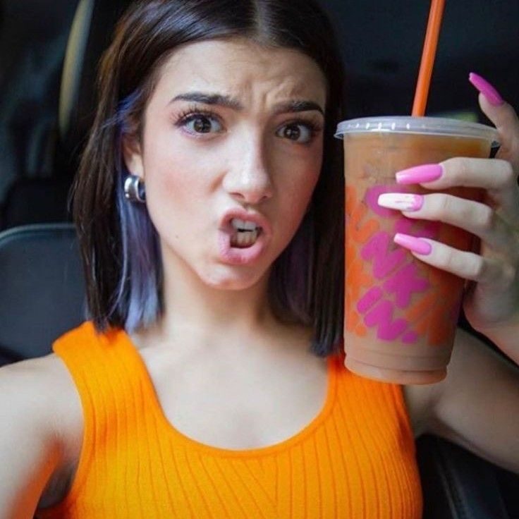 charli now has her own Dunkin order on the Dunkin donuts ...