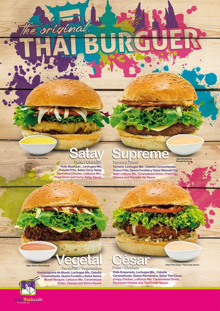 Te recordamos que en nuestros PadthaiWok de Málaga, Fuengirola e Ibiza, tienes disponibles las nuevas #ThaiBurguers #HaveFun
