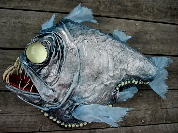 Deep sea hatchetfish by Adelle Caunce - See this image on Photobucket.