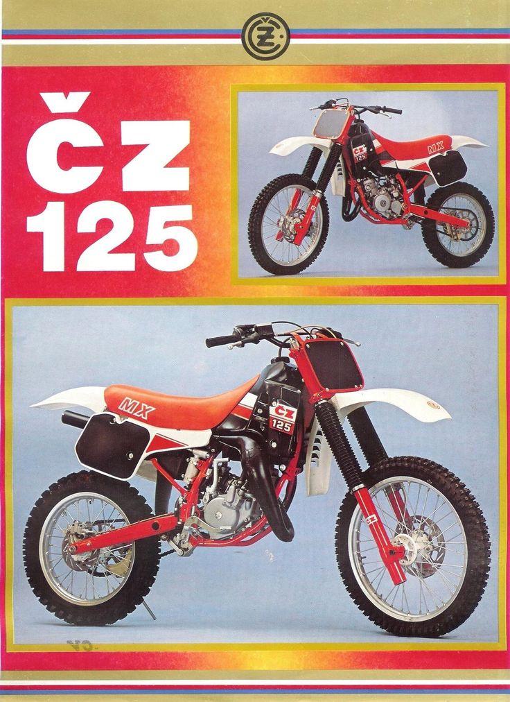 66 Cz Motocross Bikesvintage Cz Motocross Bikescz