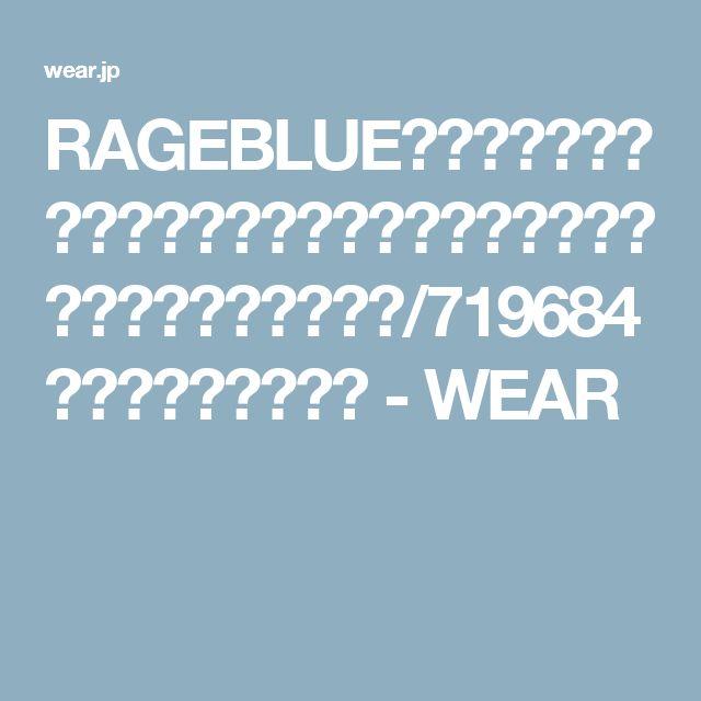 RAGEBLUE(レイジブルー)の「<トレンドのロング丈>ワッフルロングタンクトップ/719684(タンクトップ)」 - WEAR