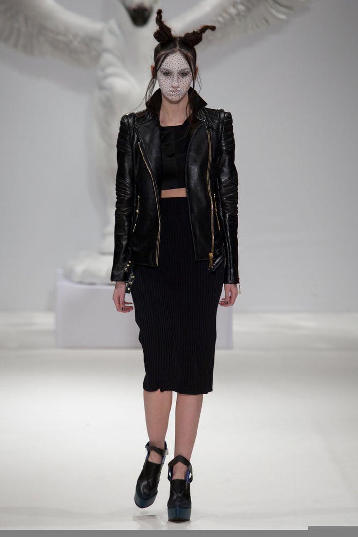 Dora AbodiAutumn Winter 2015, London Fashion Week, photo Megan Redden
