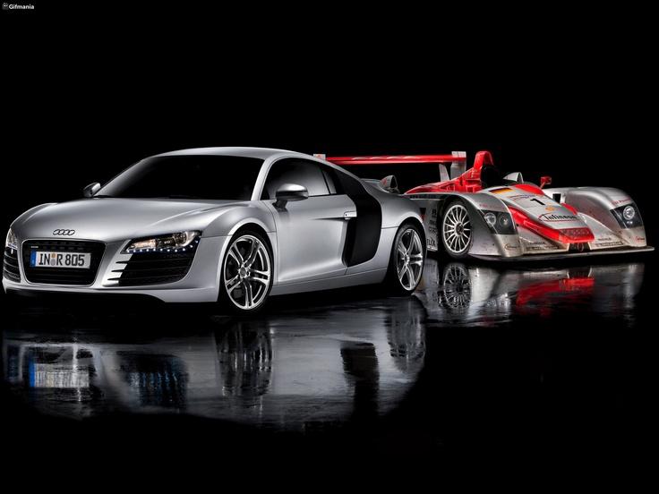 Audi R8 et Audi R8 Le Mans