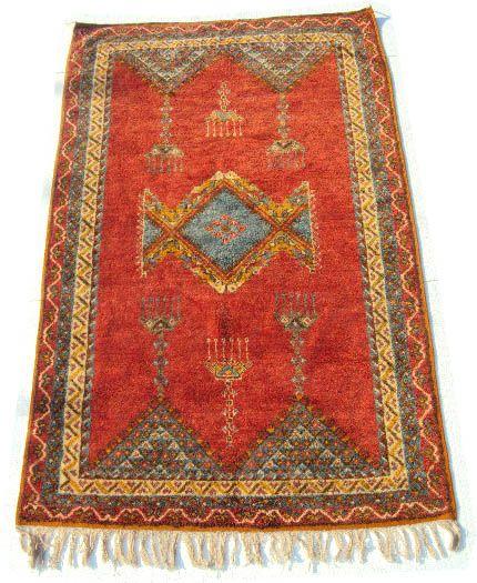 Handwoven Taznakht berber rug