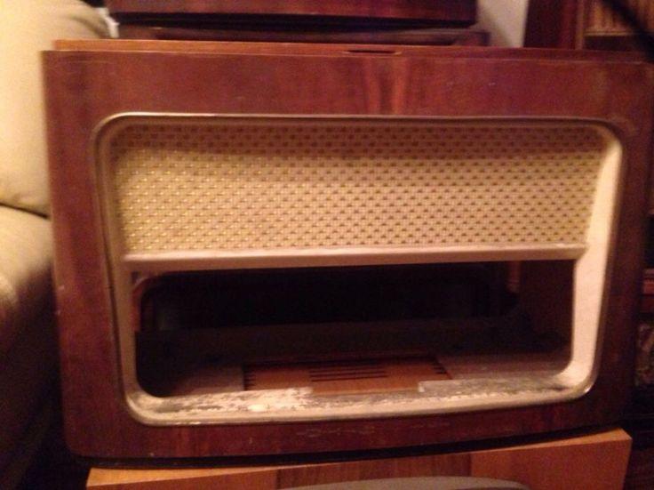 Stara obudowa radio lampowe PRL antyk