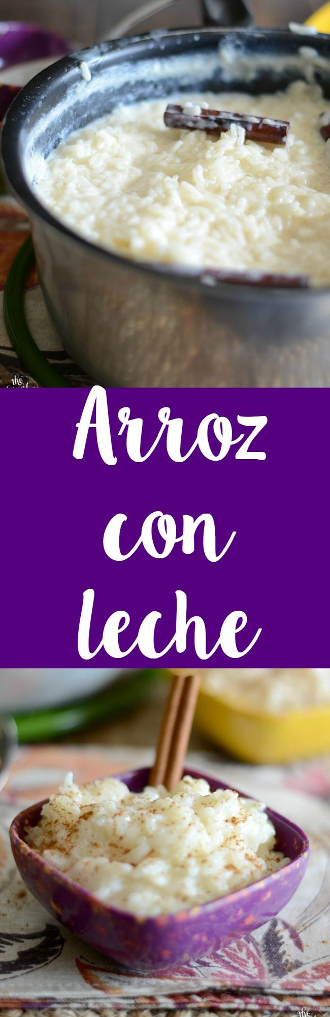 Homemade arroz con leche recipe! This recipe is super easy to make and everyone will love it!: