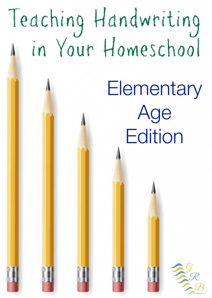 Tips and resources for teaching handwriting in your homeschool for elementary ages (1st-3rd grade) | www.GoldenReflectionsBlog.com