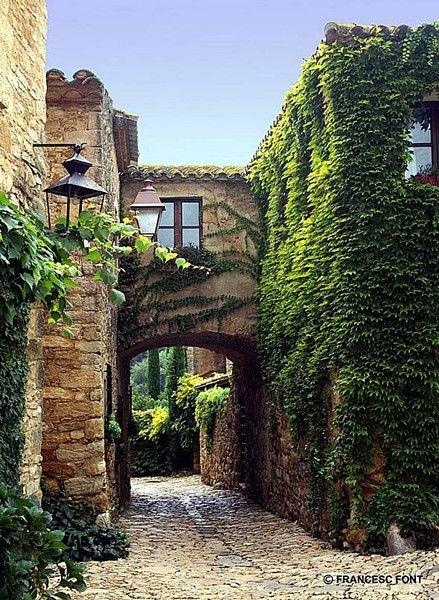 Peratallada Medieval town, Girona, Catalunya, Spain... I love this little town