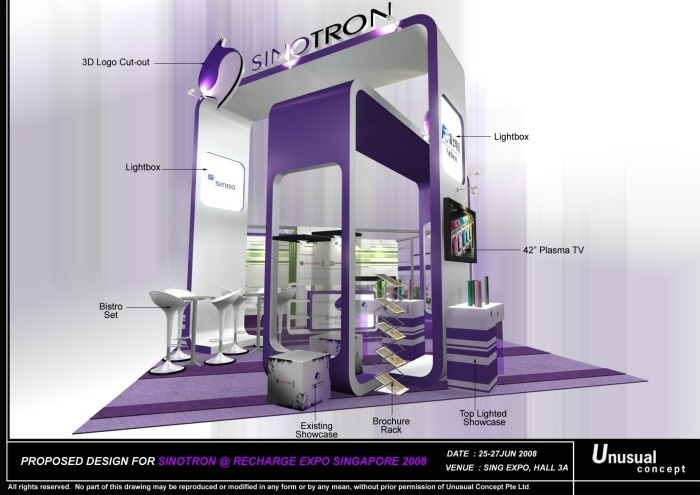 Booth Design, (Siow)