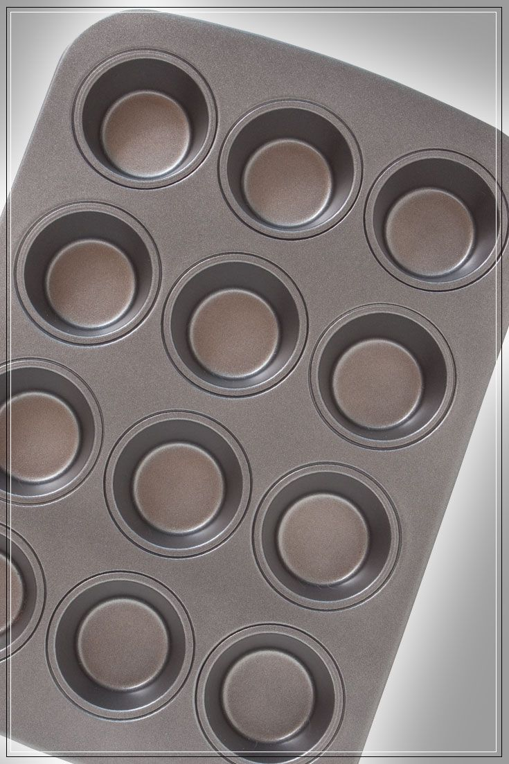 Cupcake Pan: High-quality, durable, non-stick, easy-release and easy to clean!